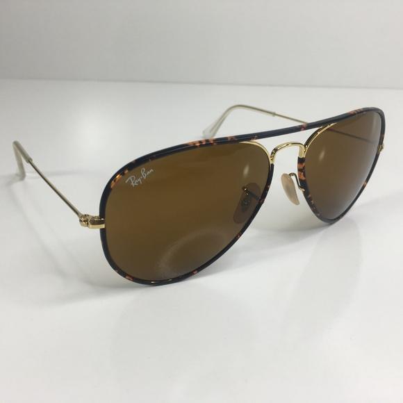 1fca3e8cd2 Ray Ban Aviator Sunglasses Tortoise Gold